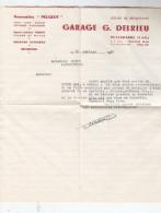 Garage Delrieu, Puylagarde, 82, à Mr. Dupuy, Lamagistère, 82. Dodge4x4. 1950. - Camions