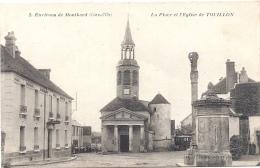 21 COTE D OR - TOUILLON Place Et L'Eglise - Autres Communes
