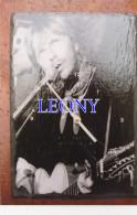 "PHOTOGRAPHIE  "" RENAUD   ""  - Dessin Avec PENDULE - COGNAC Nov 99 - Singers & Musicians"