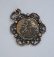 Ancienne Médaille. - Saint Christophe ? - Religion & Esotérisme
