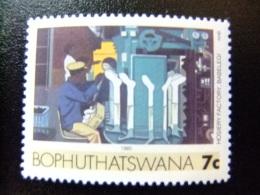 AFRIQUE DU SUD BOPHUTHATSWANA 1985 Fabrique De Bonneterie Yvert Nº 154 ** MNH - Bofutatsuana