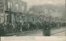 La Gare De SENLIS Après Le Bombardement Par Les Allemands - Senlis