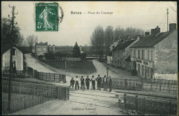 BORAN - Place Du Canange - Animée - Boran-sur-Oise