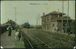WARLUIS - La Gare - Gros Plan, Animation, Rare - Other Municipalities