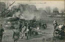 ZEPPELLIN ABATTU A COMPIÈGNE, Le 17 Mars 1917 N°16 - Compiegne
