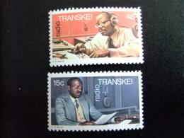 AFRIQUE DU SUD TRANSKEI 1977 1º Anniversaire De Radio Traskei Aniversario De Radio En Transkei Yvert Nº 30 / 32 ** MNH - Transkei