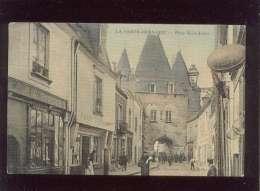 72 La Ferté Bernard Place Saint Julien édit. Génisson Couleur Toilée Fon,taine Tailleur , Perot Coiffeur - La Ferte Bernard