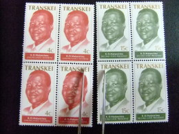AFRIQUE DU SUD TRANSKEI 1979 Presidente K. D. Matanzima Yvert Nº 52 / 53 ** MNH - Transkei