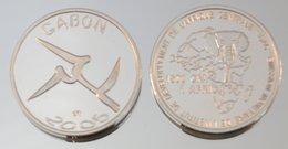 Gabon 1500 CFA 2005 Argent Pur .999 Monnaie Primitive - Gabón