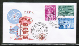 EUROPEAN IDEAS 1961 BE MI 1255-57 FDC BELGIUM - Idee Europee