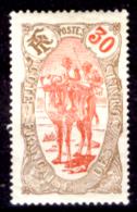 Costa-dei-Somali-00042 - 1909: Y&T N. 74 (+) Hinged, Privo Di Difetti Occulti.- - Ungebraucht