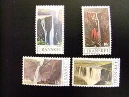 AFRIQUE DU SUD TRANSKEI 1979 Turismo Chutes D´eau Du Transkei Yvert Nº 58 / 61 ** MNH - Transkei