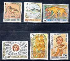 1976 , Mosaïques Tunisiennes,  YT 816 - 21, Neuf *,  Lot 45086 - Tunesien (1956-...)