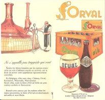 Orval  -Feuillet Publicitaire (Abbaye,bière,Trappiste.. )Pub. Des Années 1970 -Edité Par La Brasserie D'Orval - Autres Collections