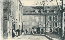 Isère : Mens, Place Tannon-Bonnet, Belle Animation - Mens