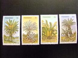 AFRIQUE DU SUD TRANSKEI 1980 Flora Flore Yvert Nº 71 / 74 ** MNH - Transkei