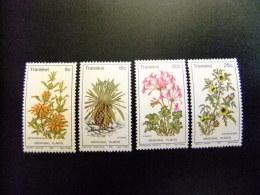 AFRIQUE DU SUD TRANSKEI 1981 Flora Flore Plantas Medicinales Yvert Nº 88 / 91 ** MNH - Transkei