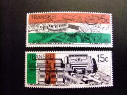 AFRIQUE DU SUD TRANSKEI 1981 5º Aniversario De La Independeencia Yvert Nº 96 / 97 ** MNH - Transkei