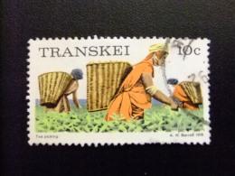 AFRIQUE DU SUD TRANSKEI 1976 Recoguida Del Te Récolte Du Thé Yvert Nº 10 º FU - Transkei