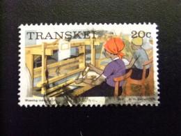 AFRIQUE DU SUD TRANSKEI 1976 Industrie Textil Industria Textil Yvert Nº 12 º FU - Transkei