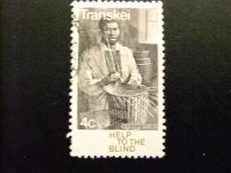 AFRIQUE DU SUD TRANSKEI 1977 Ayuda A Los Ciegos Yvert Nº 30 º FU - Transkei