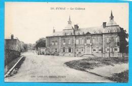 08-Fumay- Le Château-cpa Non écrite - Fumay