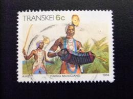 AFRIQUE DU SUD TRANSKEI 1984 Musicos Yvert Nº 147 º FU - Transkei