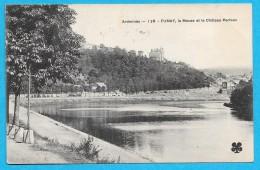 08-Fumay- Le Château Perlaux,la Meuse-cpa écrite 1909 - Fumay
