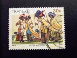 AFRIQUE DU SUD TRANSKEI 1984 De Joyeusse Commères Alegres Comadres Yvert Nº 155 º FU - Transkei