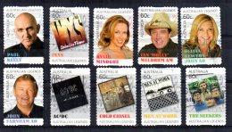Australia - 2013 - Australian Legends Of Music (17th Series, Self Adhesive) - Used - 2010-... Elizabeth II