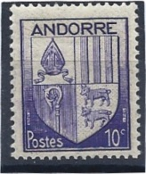Andorre N° 93**     Valeur YT : 0,15 € - Andorre Français
