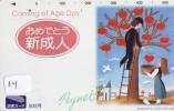 Télécarte Japon * PEINTURE FRANCE * RAYMOND PEYNET (14)  Japan Painting Phonecard * MUSEE * PARIS - Painting