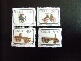 AFRIQUE DU SUD CISKEI 1989 Carros Véhicules à Traction Animale Yvert Nº 162 / 65 ** MNH - Ciskei