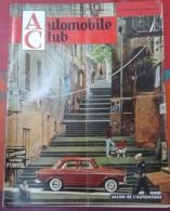 Automobile Club N° 49 Septembre Octobre 1961 Salon De L´Auto,les 3 4 CV Renault (4 L), Nouvelles Voitures - Auto