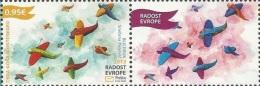 CG 2013-340 JOY OF EUROP, CRNA GORA MONTENEGRO, 1 X 1v + Label, MNH - Montenegro
