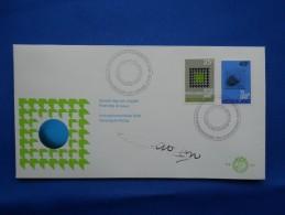 Fdc, Handtekening Ontwerper, Signed By Designer - FDC