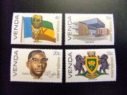AFRIQUE DU SUD VENDA 1979 Independencia Indépendance Yvert Nº 1 / 4 ** MNH - Venda