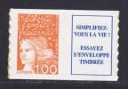 FRANCE AUTOADHESIF N°   16aa ( 3101aa )** MNH, Type II, Oreille Cassée, TB - France