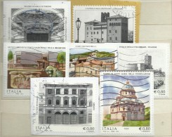 Italia 2015, Patrimonio Artistico E Culturale (o), Serie Completa - 6. 1946-.. Repubblica