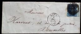 BELGIEN BELGIUM 1859 COVER WITH STAMP....... - Belgien