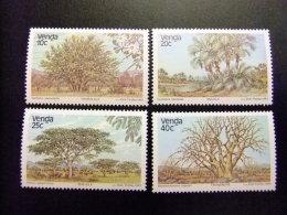 AFRIQUE DU SUD VENDA 1983 Flore Arbres Flora Arboles Yvert Nº 78 / 81 ** MNH - Venda