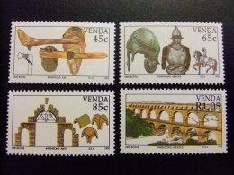 AFRIQUE DU SUD VENDA 1993 Los Inventos Les Inventions Yvert Nº 261 / 264 ** MNH - Venda