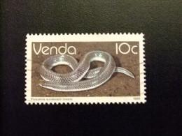 AFRIQUE DU SUD VENDA 1986 Reptiles Serpientes Yvert Nº 129 º FU - Venda