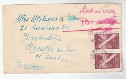1949 Air Mail POLAND COVER With STAMPS ON BOTH SIDES To  GB - Covers & Documents