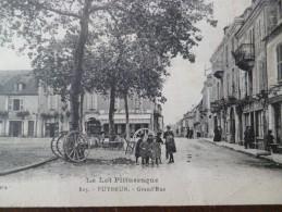 CPA 46 Lot Puybrun Grand' Rue Série Le Lot Pittoresque - France