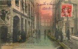 PARIS  INONDE RUE DE LA BUCHERIE AU QUARTIER LATIN  EDITION A.  NOYER - De Overstroming Van 1910