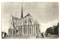 Cp, 80, Amiens, L'Abside De La Cathédrale - Amiens