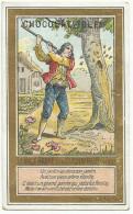 CHROMOS IBLED - FABLES DE FLORIAN - LE VIEUX ARBRE ET LE JARDINIER. - Ibled