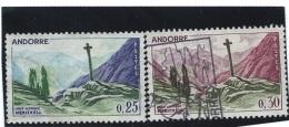 ANDORRE Lot De N° 158  0 Et 159  0       Valeur YT :  0,95 €
