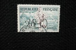 Perfin France Lochung Athlétisme N°961  Perforé CFM120 - Perforés